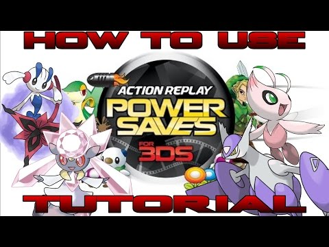 How To Use the 3DS Action Replay: PowerSaves (Re-made 2015)