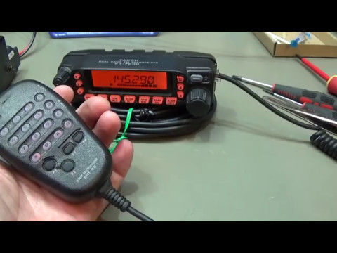 #136  Yaesu  FT-7800 very noisy on transmit. Let's fix it