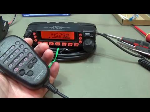 #136  Yaesu  FT-7800 very noisy on transmit. Let's fix it