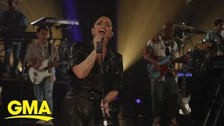 Demi Lovato exclusively performs new song 'The Art of Starting Over' l GMA