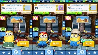Despicable Me Minion Rush - GIRL vs STARFISH vs HUNTER - Gameplay iOS / Android