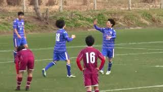 2018/01/21 横須賀マリンFCvsクラブテアトロ ハイライト