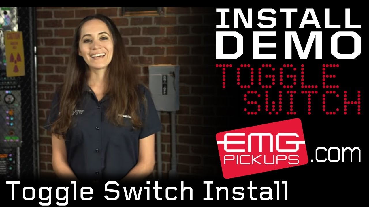 new emg solderless toggle switch install with monique [ 1280 x 720 Pixel ]