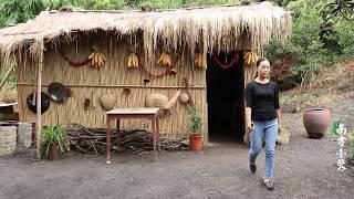 【南方小蓉】白雲深處發現神秘小屋,80姑娘隱居山崖,自耕自種回歸原生態生活