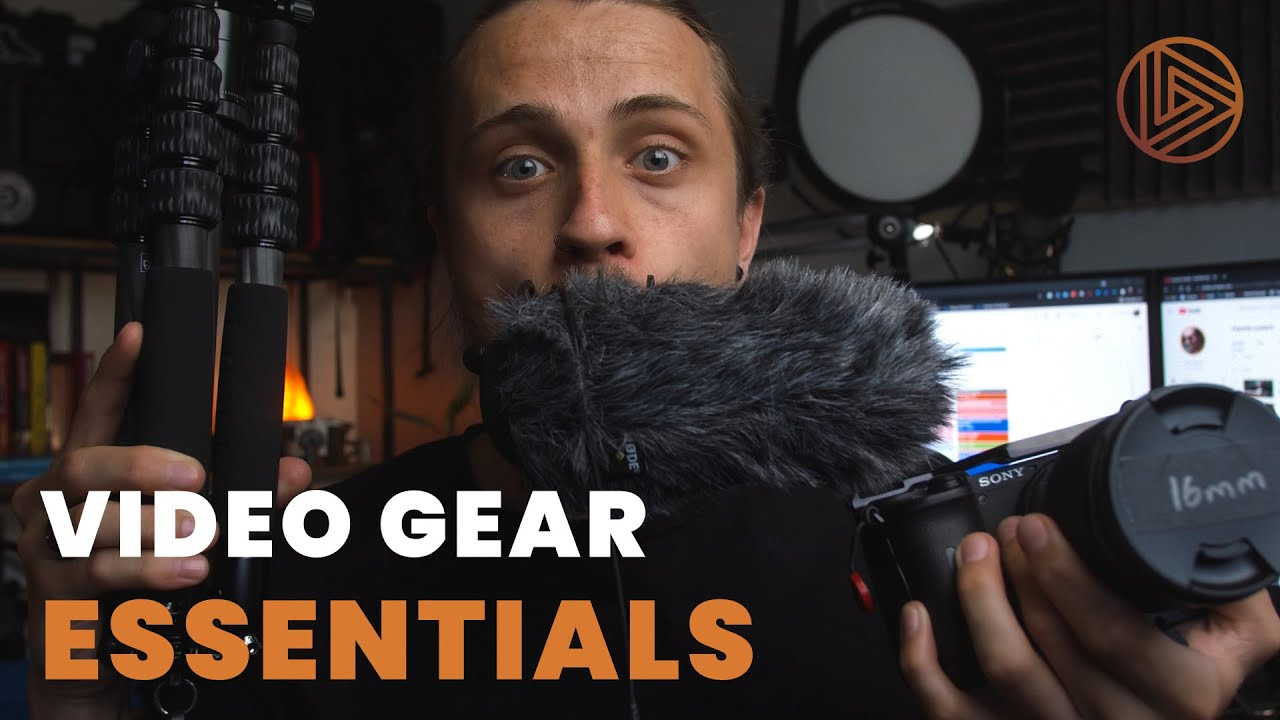 5 Essential Camera Gear & Accessories For Creating Videos