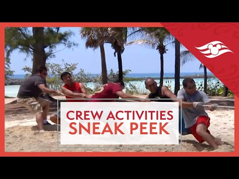 Crew Activities Manager Sneak Peek - Disney Cruise Line Jobs