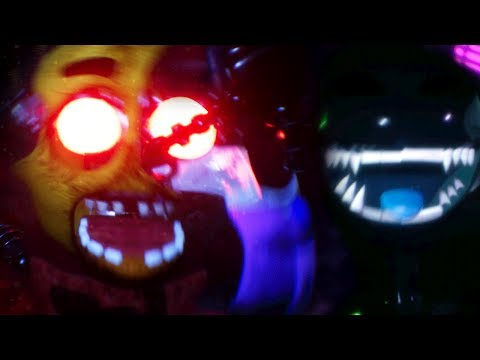 CHASED BY THE ULTIMATE HYBRID ANIMATRONIC || FNAF Lost and Found (Five Nights at Freddys)