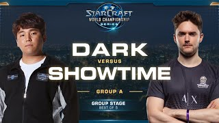Dark vs ShoWTimE ZvP - Group A - 2019 WCS Global Finals - StarCraft II