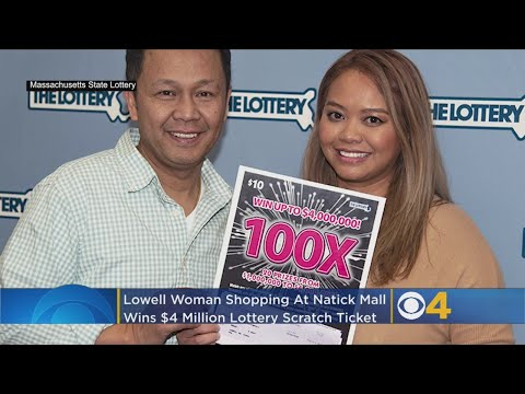 Woman Wins $4 Million On Scratch Ticket While Holiday Shopping At Natick Mall