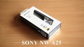 sony Nw A25 Hi-Res Audio Walkman unboxing, Sound test and Review