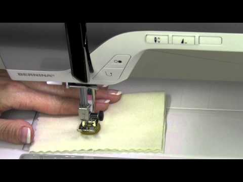 Bernina 330   15 Sewing on buttons