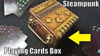 DIY: Steampunk Playing Cards Box