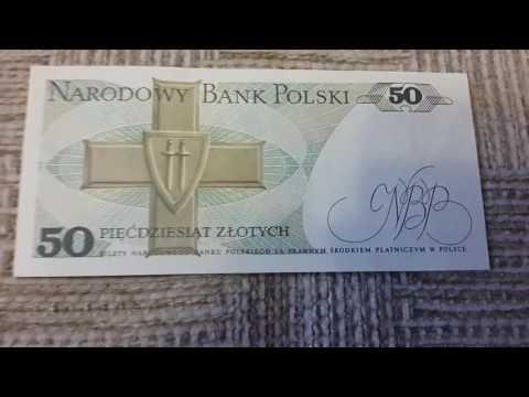 Bank Polski - 50 piecdziesiat zlotych 1988