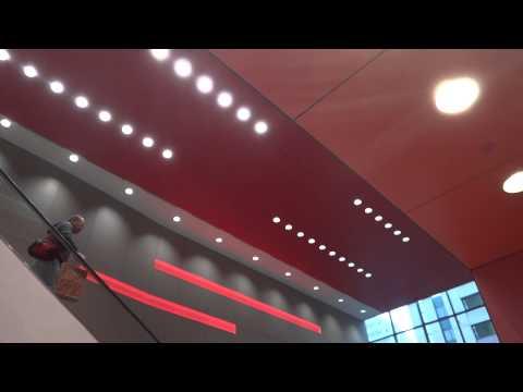 Large Mitsubishi Elevators - Target City Metreon Center - San Francisco California