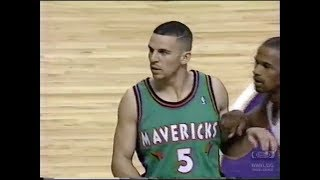 Jason Kidd  - Rookie Game highlights 1995