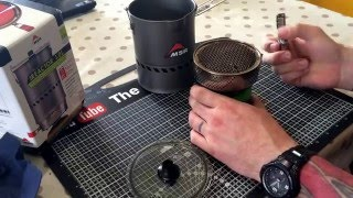 the Very Cool MSR Reactor Stove System