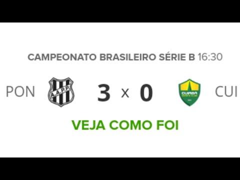 Ponte Preta 3 x 0 Cuiabá - Gols & Melhores Momentos (HD) Brasileirão SERIE B 28/09/19 | Futebol