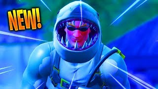The New SHARK SKIN in Fortnite...