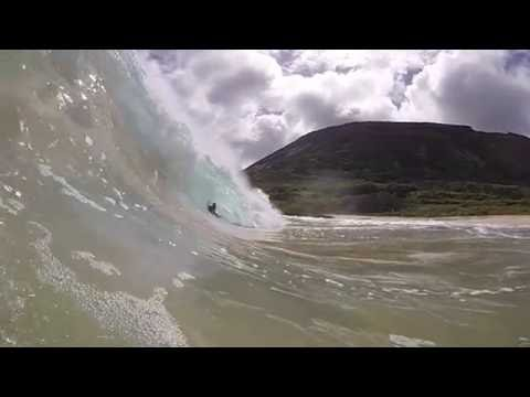 PERFECT Waves From Hawaii Hurricane Iselle HD