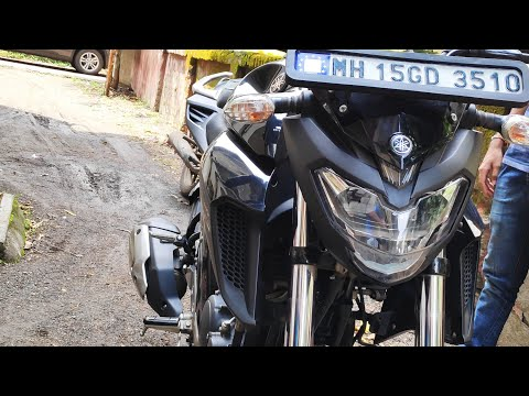 Yamaha FZ-25 Chain clean & Lube | overview | Ft. Deccan Rider. Chetans vlogs