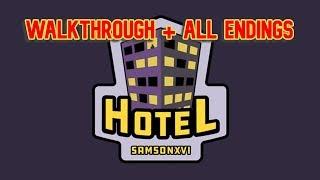 Hotel Walkthrough & All endings | Roblox Hotel