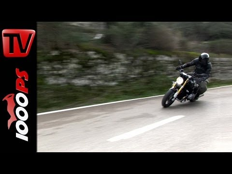 BMW R nineT Test | Video Action, Onboard, Details