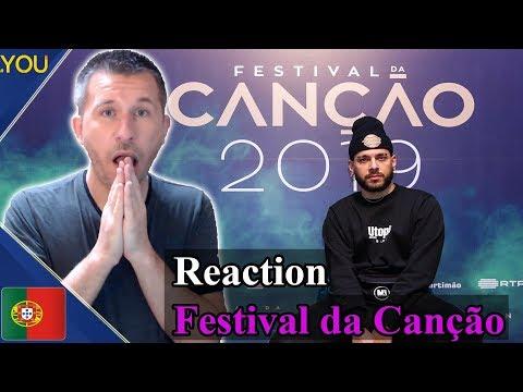 Portugal: Festival da Canção 2019 - Semi Final 1 REACTION (Eurovision 2019)