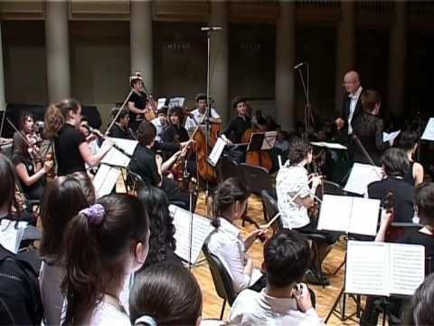 "A. Vivaldi ""Gloria"" Z. Paliashvili Central Music school ""school for gifted children"""