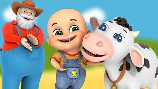 Baby goes to Old MacDonald's Farm  | cartoon for kids | Jugnu kids  Nursery Rhymes & Kids Songs