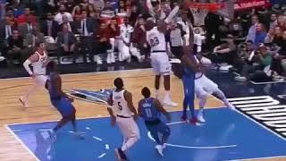 Lebron chase down block on Dennis Smith Jr (yelll get that s**t out of here)