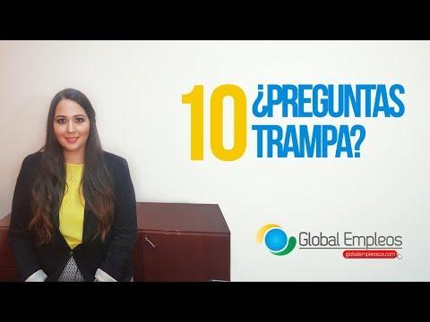 10 PREGUNTAS TRAMPA EN UNA ENTREVISTA LABORAL