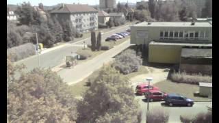 1 rok v 60 sekundách - webkamera Česká Lípa Holý vrch 12/2012 - 12/2013