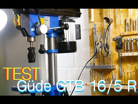 Güde GTB 16/5 Standbohrmaschine Test German