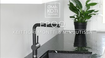 EPOQ TIMELAPSE keittioremontti - kitchen renovation  |  OMA KOTI VALKOINEN