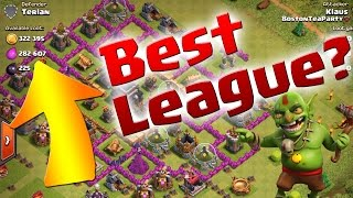 Clash of Clans:  What is the Best league for Gold & Elixir?