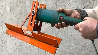 AMAZING HOME MADE INVENTION FROM ANGLE GRINDER