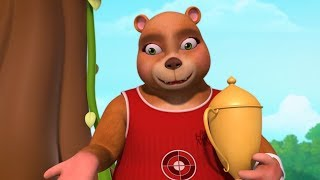 Grizzly Bear Animal Song & Rhymes | Rhymes for Children | Infobells