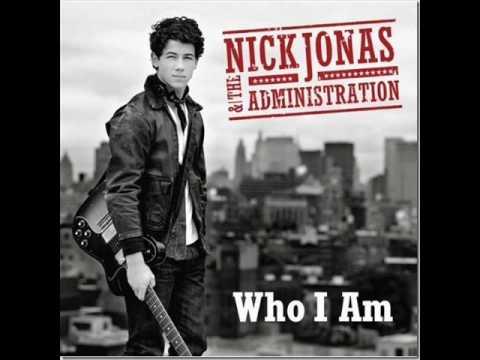Nick Jonas & The Administration - Who I Am (Instrumental / Karaoke) HD with LYRICS
