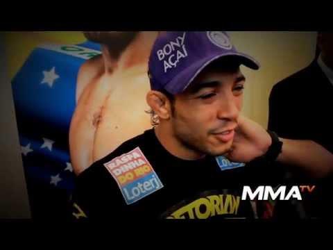 Mais agressivo, José Aldo afirma lutar para frente e diz ter que vencer