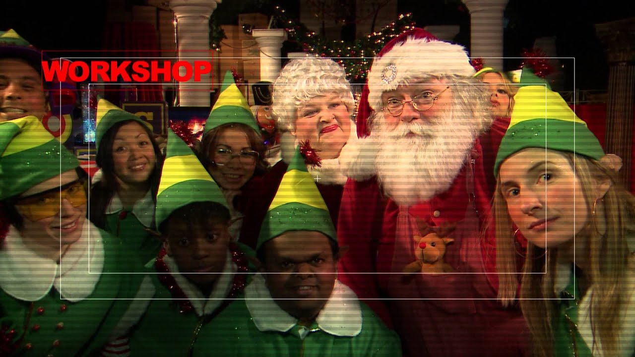 were live from the north pole youtube - Santa And The North Pole