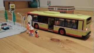 RC BUS  SIMULATION  アオシマ 1/32 RC BUS 西東京バス走行