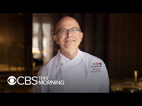 Former White House Pastry Chef Bill Yosses On Cooking For The Obama's