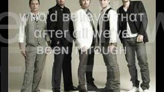 Boyzone - Picture of You (With Lyrics)