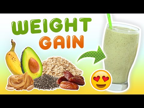 Weight Gain Smoothie (High-Calorie Smoothie Recipe)