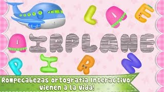 aprendiendo ingles para niños de preescolar, letras y palabras