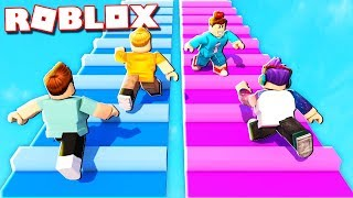 Roblox Adventures - ULTIMATE TEAM OBBY RACE! (Obby Squads)