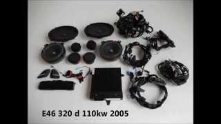 e46 320d 110kW harman kardon BMW sound system