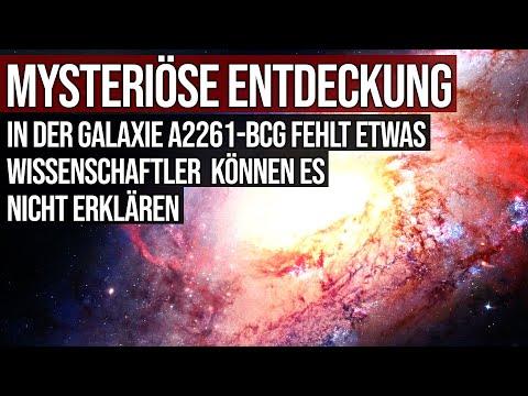 Mysteriöse Entdeckung - In Galaxie A2261-BCG fehlt etwas - Wissenschaftler können es nicht erklären