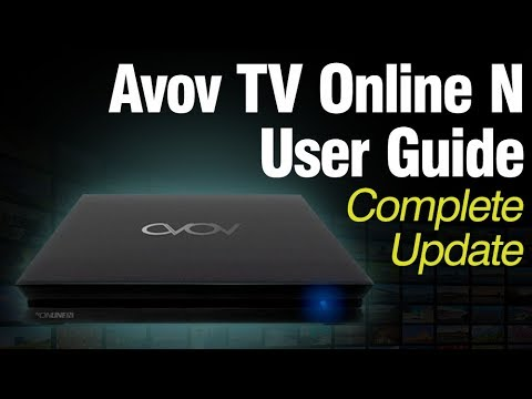 Avov TVOnline N User Guide UPDATED + Download Link