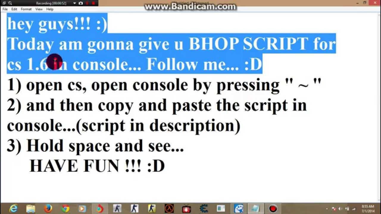 bunny hop script cs 1.6 download